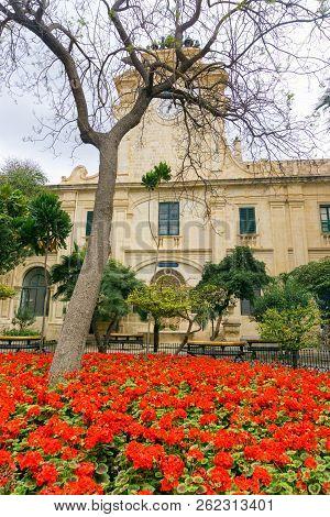 Grandmaster's Palace Garden,  Malta