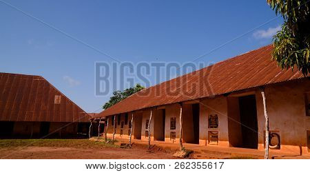 View To Royal Palaces Of Abomey Of Fon People In Benin
