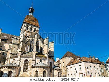 Basilica Notre Dame In Beaune - Burgundy, France