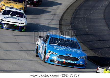 October 07, 2018 - Dover, Delaware, USA: Matt Kenseth (6) races through the field off turn two at  the Gander Outdoors 400 at Dover International Speedway in Dover, Delaware.