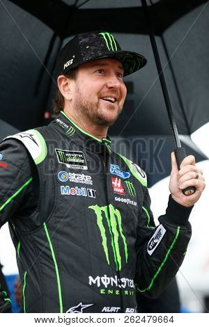 October 05, 2018 - Dover, Delaware, USA: Kurt Busch (41) hangs out on pit road prior to qualifying for the Gander Outdoors 400 at Dover International Speedway in Dover, Delaware.