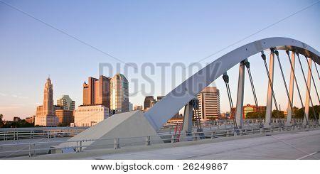 New Main Street Bridge over the Scioto River in Columbus, Ohio