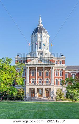Jesse Hall At The University Of Missouri