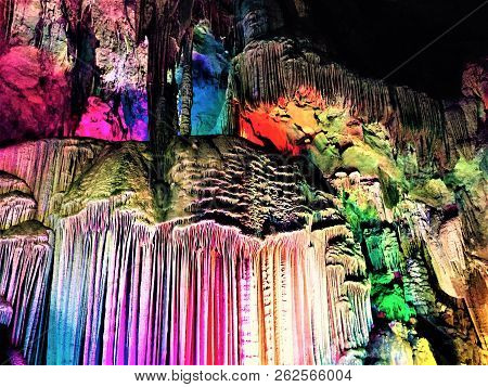 Here Is The Tomb Of The Sword. Look At The Colorful Swords, Which Make Up A Sharp And Beautiful Epee