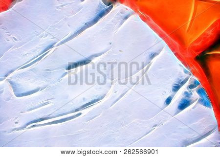 Beautiful Imaginative Background. Illustration Of Vibrant Abstract Texture. Pattern Design For Banne