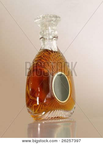 xo cognac bottle
