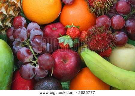 Fruit, Kind Of Fresh Fruit