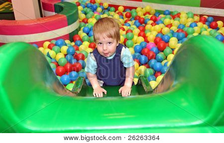 boy in the playground