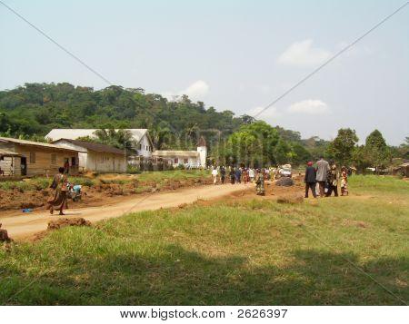 African village church