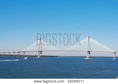 Arthur Ravenel Bridge in Charleston (also known as Cooper Bridge)
