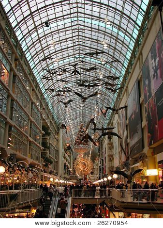 Toronto Eaton Center Interieur