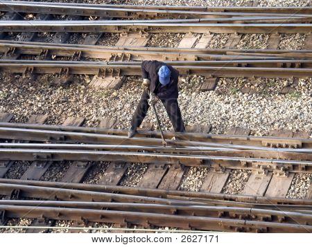 Working On Railway