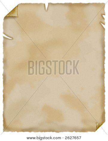 Old Paper. Parchment.