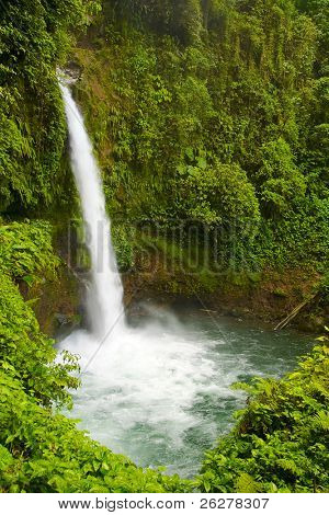 The waterfalls La Paz, Costa Rica