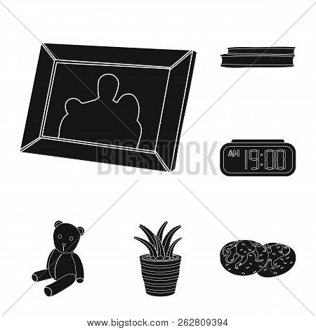 Isolated Object Of Dreams And Night Symbol. Set Of Dreams And Bedroom Stock Vector Illustration.