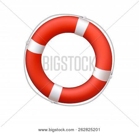 Life Belt Buoy Float Lifesaver Rescue Nautical Illustration
