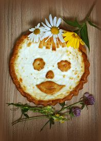 Pie A Russian Cheese Cake With Cottage Cheese