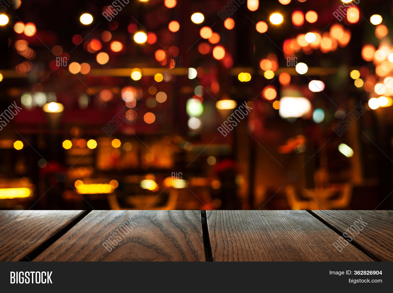 Blur Bokeh Bar Club Image Photo Free Trial Bigstock