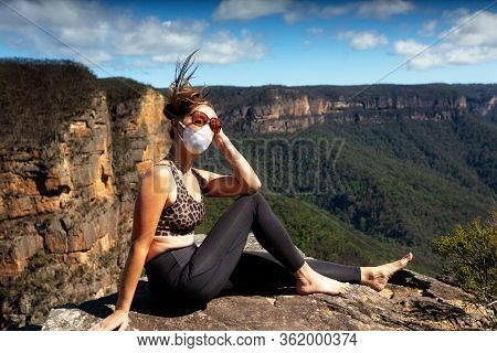 Pondering An Unknown World During Virus Pandemic.  Nature Is A Good Healer Of Mental Stresses And Al