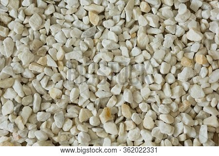 Top View Of Heap Of Natural Zeolite Stone As Background