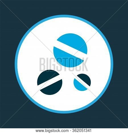 Drug Icon Colored Symbol. Premium Quality Isolated Dope Element In Trendy Style.