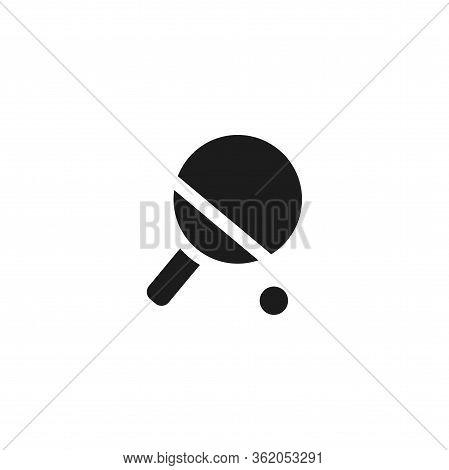 Vector Icon Tennis Racquet 10 Eps . Lorem Ipsum Illustration Design