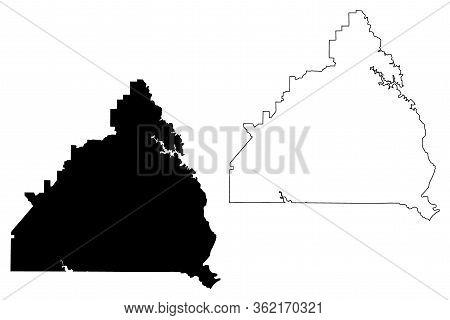 Butts County, Georgia (u.s. County, United States Of America,usa, U.s., Us) Map Vector Illustration,