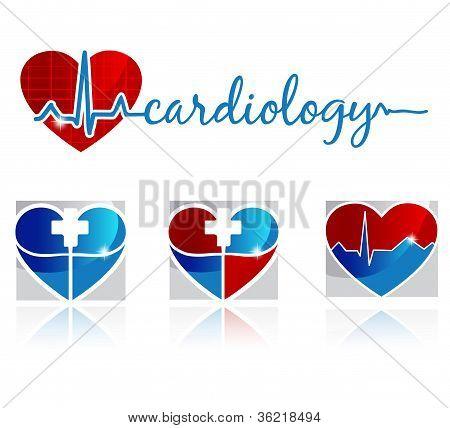 Cardiology symbols