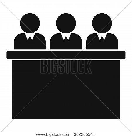 Job Commission Expert Icon. Simple Illustration Of Job Commission Expert Vector Icon For Web Design
