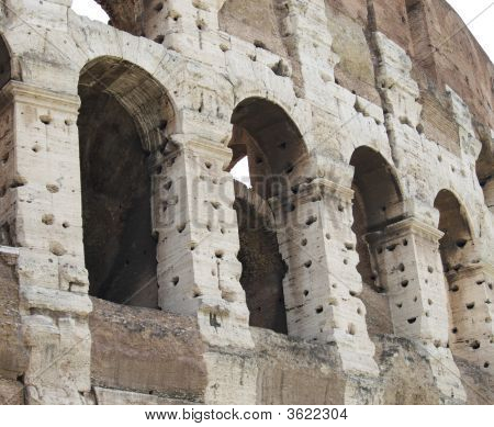 Collosseo And Vandalism