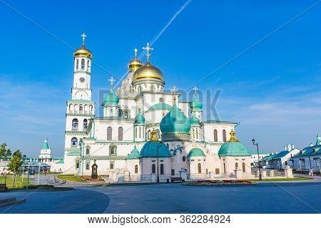 New Jerusalem Orthodox Monastery Located In Istra. Moscow Region