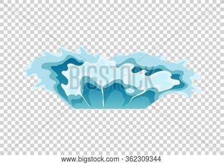 Water Splash Animation. Shock Waves On Transparent Background. Spray Motion, Spatter Blast, Drip. Cl