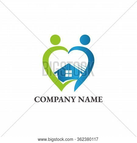 Lovely Home Vector Icon On White Background. Lovely Home Modern Icon For Graphic And Web Design. Lov