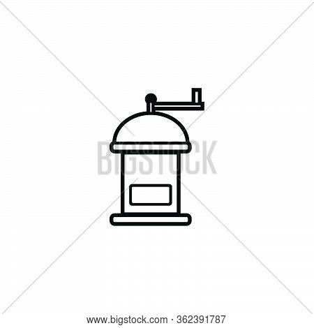 Coffee Roaster. Grinder Logo Ideas. Inspiration Logo Design. Template Vector Illustration. Isolated