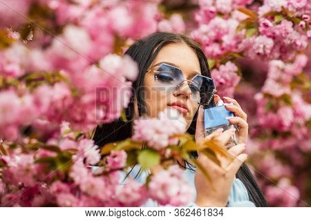 Cherry Blossom Aroma. Female Perfume. Spring Perfume. Fancy Style. Aromatic Compounds. Tenderness. G