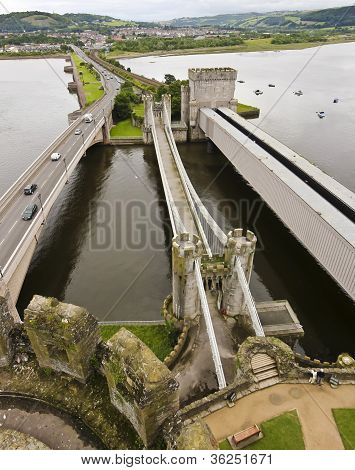 A Trio Of Bridges To Conwy Castle