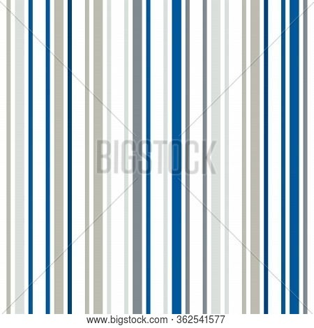 Vertical Stripes Seamless Pattern. Male, Female, Childrens Modern Fashion Print. Cool Lines Endless