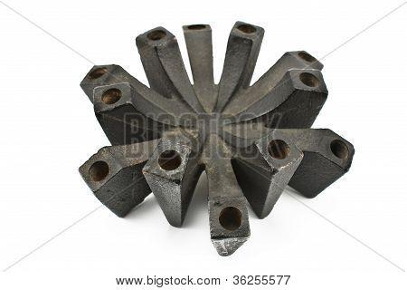 Iron Candlestick
