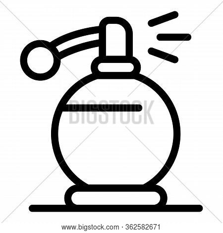 Stylist Perfume Icon. Outline Stylist Perfume Vector Icon For Web Design Isolated On White Backgroun