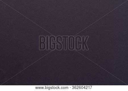 High Resolution Close Up Of Black Felt Fabric Texture Of Rough Fleecy Fabric Of Black Color For Back