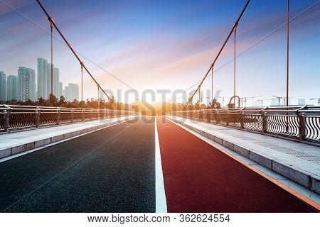 Bridge Under The Blue Sky, Shaoxing, Zhejiang, China.