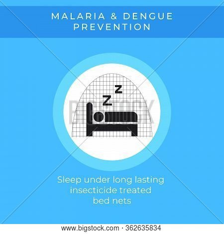World Malaria Day, April 25th. Vector Design Suitable For Brochure, Poster And Banner. Mosquito Like