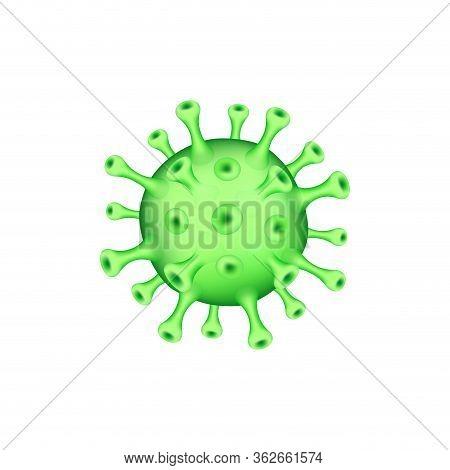 Corona Virus 2020.covid-19.white Background. Novel Coronavirus 2019-ncov . Virus Covid 19-ncp. Coron