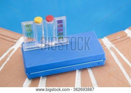 Measurement Of Ph And Chlorine In Swimming Pools