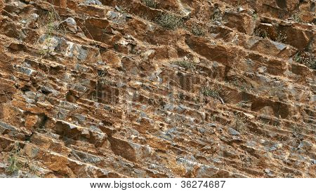 Natural Stone Texture Closeup Background