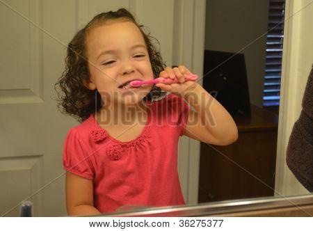 Establishing good brushing habits