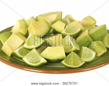 Avocado and Limes
