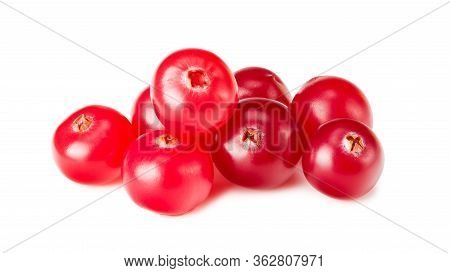 Cranberry Isolated On A White Background. Healthy Food