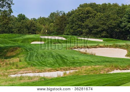 The 4Th At Bethpage Black.