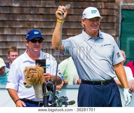 Ernie Els At The 2012 Barclays